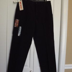 Dockers Workday Khaki Classic Fit Black Pants NWT